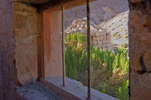 Window View Through an Abandoned House, Talabre, Atacama, Chile by Mallorie Ostrowitz