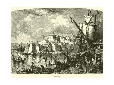 Malta--Giclee Print