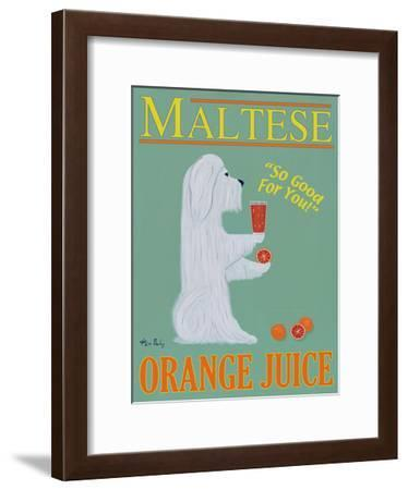 Maltese Orange Juice-Ken Bailey-Framed Limited Edition