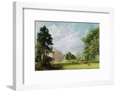 Malvern Hall, Warwickshire, 1821-John Constable-Framed Giclee Print