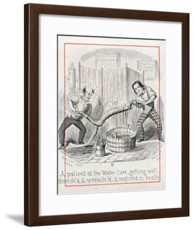 Malvern Water Cure--Framed Giclee Print