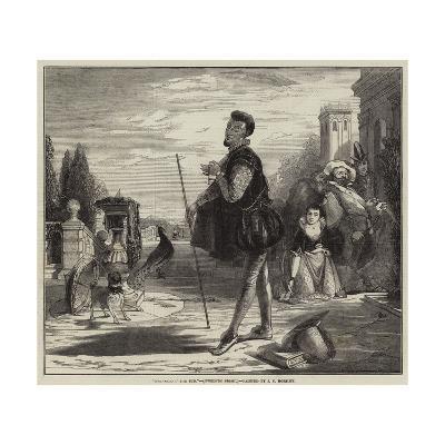 Malvolio I' the Sun, Twelfth Night-John Callcott Horsley-Giclee Print