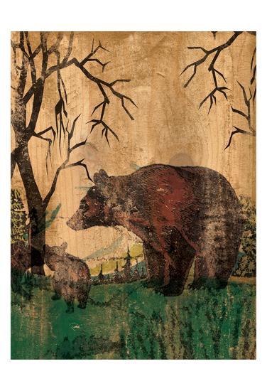 Mama Bear-Elizabeth Jordan-Art Print