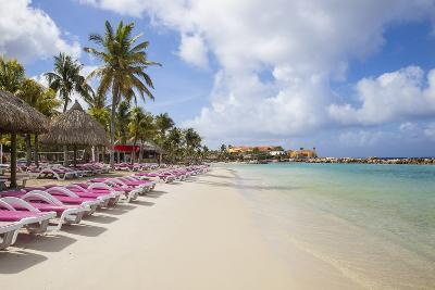 Mambo Beach, Willemstad, Curacao, West Indies, Lesser Antilles-Jane Sweeney-Photographic Print