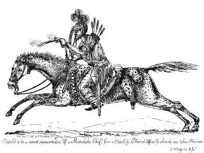 Mameluke Chief, 1798-James Gillray-Giclee Print