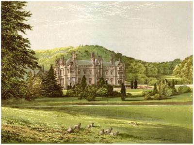 Mamhead, Devon, Home of Baronet Newman, C1880-AF Lydon-Framed Giclee Print