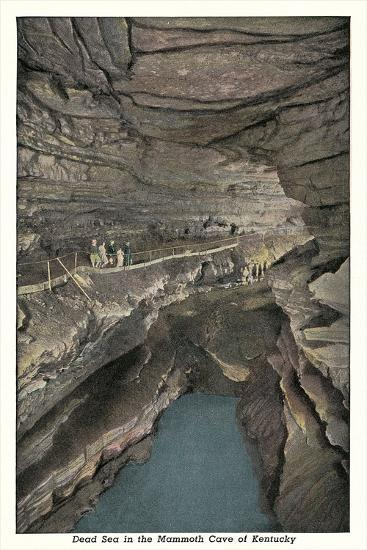 Mammoth Cave, Dead Sea--Art Print
