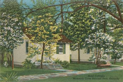 Mammoth Cave Hotel Cottages--Art Print