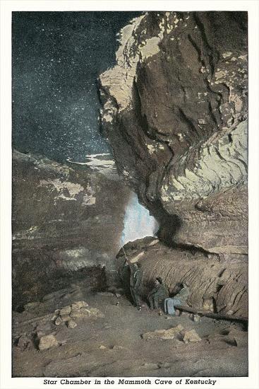 Mammoth Cave, Star Chamber--Art Print