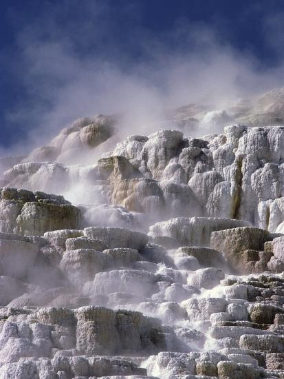 Mammoth Hot Springs-Craig Aurness-Photographic Print