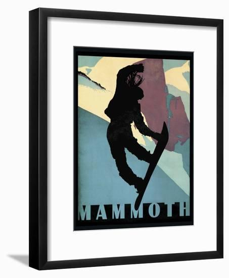 Mammoth Mountain Winter Sports I-Tina Lavoie-Framed Giclee Print