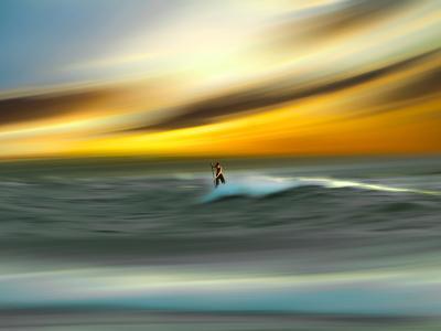 Man Aginst Nature-Josh Adamski-Photographic Print