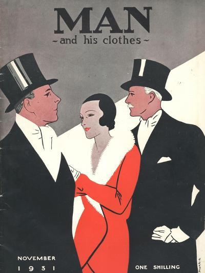 Man and his clothes, Mens Magazine, UK, 1931--Giclee Print