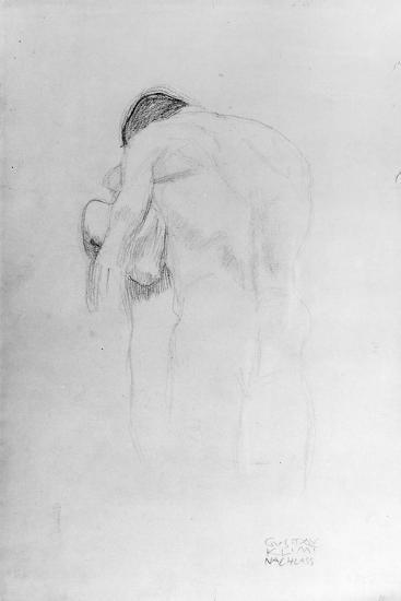 Man and Woman, Study for 'Beethovenfries', 1902-Gustav Klimt-Giclee Print
