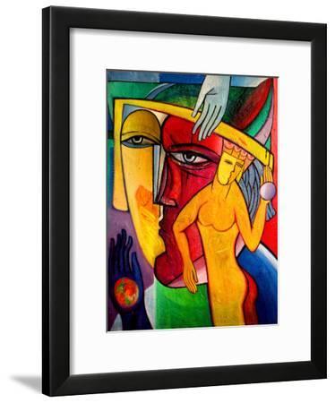Man And Woman-Van Hovak-Framed Art Print