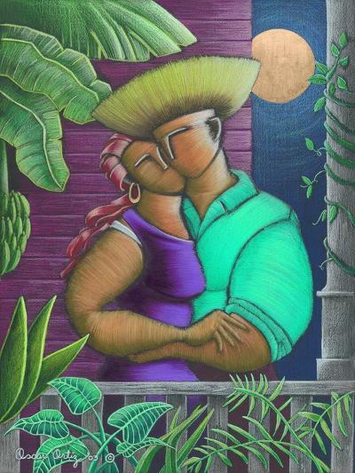 Man and Woman-Oscar Ortiz-Giclee Print