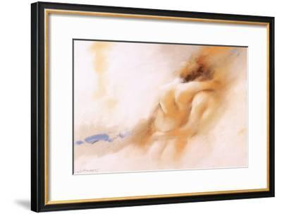 Man and Women II-Joaquin Moragues-Framed Art Print