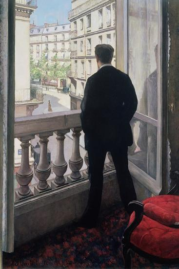 Man at the Window. 1875-Gustave Caillebotte-Giclee Print