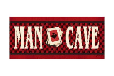 Man Cave - Red-Jo Moulton-Art Print