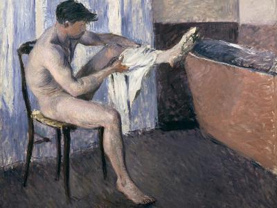 Man Drying His Leg-Gustave Caillebotte-Giclee Print
