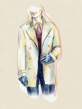 Man in Coat-Anna Ismagilova-Photographic Print