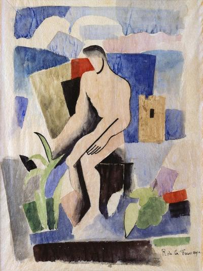Man in the Country, study for Paludes-Roger La Fresnaye-Giclee Print