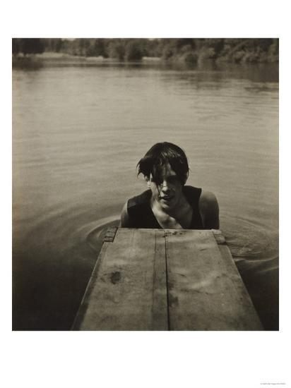 Man in Water-Curtis Moffat-Giclee Print