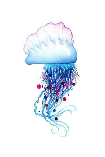 Man o'War Jellyfish-Sam Nagel-Art Print