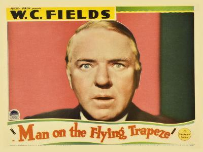 Man on the Flying Trapeze, 1935--Art Print