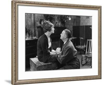 Man Pleading with Unwilling Woman--Framed Photo