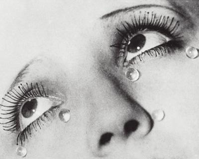 Glass Tears, 1932 by Man Ray