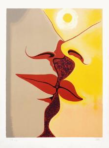 Image à deux faces by Man Ray
