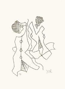 Les treize clichés vierges G by Man Ray