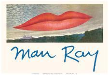 Observatory Time: The Lovers - The Lips-Man Ray-Art Print