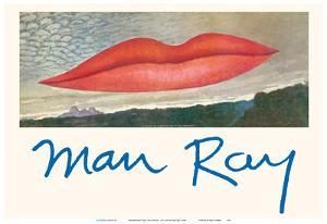 Observatory Time: The Lovers - The Lips by Man Ray