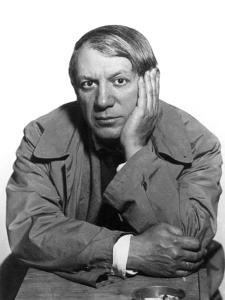 Pablo Picasso (1881-1973) by Man Ray