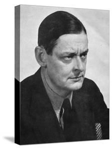 TS Eliot, American-born British poet dramatist and critic, c1950s.Artist: Man Ray by Man Ray