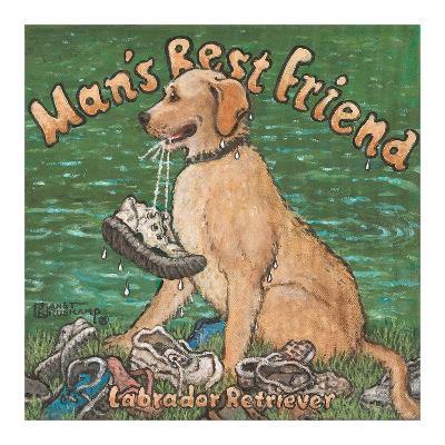 Man?s Best Friend-Janet Kruskamp-Art Print