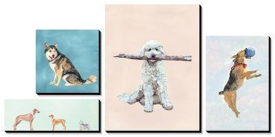 Man's Best Friend-Debbie Nicholas-Canvas Art Set