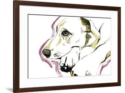 Man's Best Friend-Kristine Hegre-Framed Giclee Print