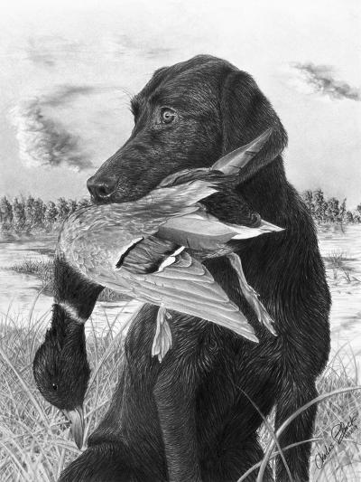 Man's Best Friend-Chuck Black-Giclee Print