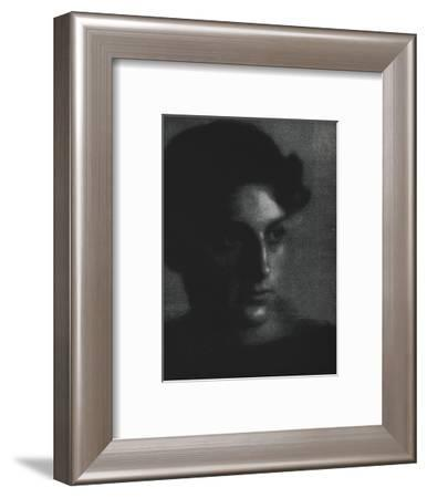 Man's Head', c1903-Fred Holland Day-Framed Photographic Print
