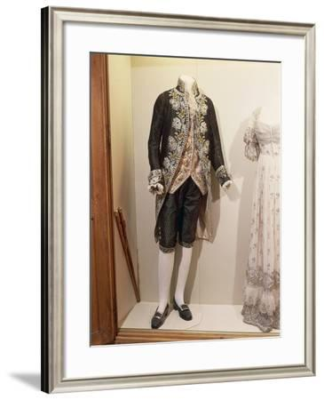 Man's Suit--Framed Giclee Print