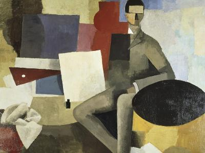 Man Seated-Roger de La Fresnaye-Giclee Print
