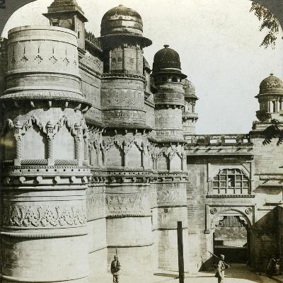 Man Singh Palace, Gwalior, Madhya Pradesh, India, C1900s-Underwood & Underwood-Photographic Print