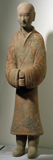 Man Standing, Shanxi Region--Giclee Print
