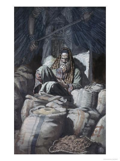Man Who Laid Up Treasure-James Tissot-Giclee Print
