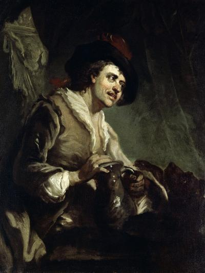 Man with a Jug, 18th Century-Francesco Giuseppe Casanova-Giclee Print