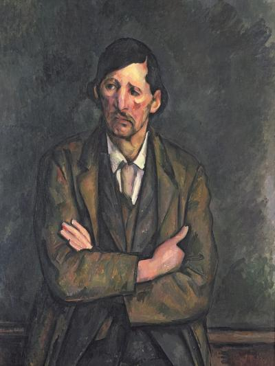 Man with Crossed Arms, c.1899-Paul C?zanne-Giclee Print