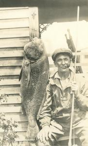 Man with Large Grouper